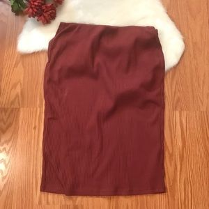 Old Navy  pencil skirt size M